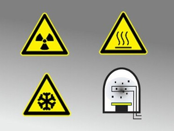 Extremely hot, cryogenic, radioactive, or evaporation chambers