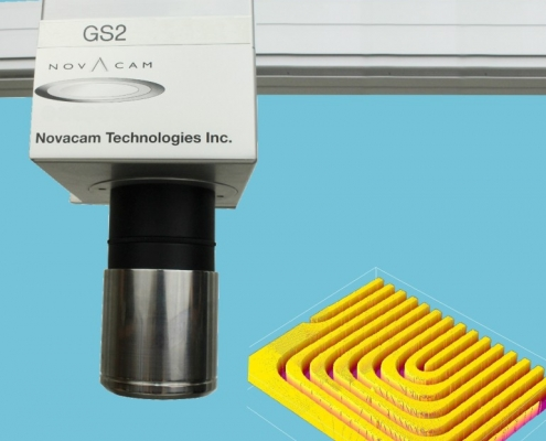 SURFACEINSPECT system galvo scanner is easily integrated in lab, shop, or fully-automated industrial inspection setups