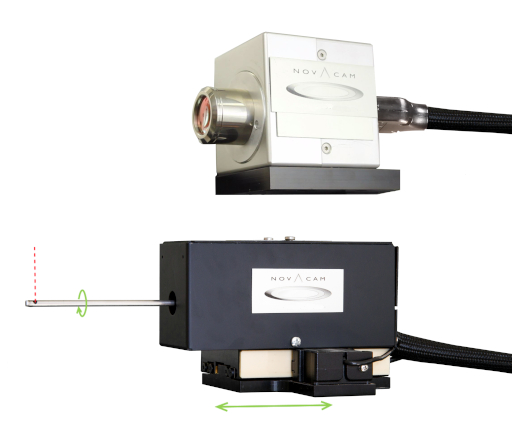 Galvo scanner (GS) probe (top) and rotational scanner (RS) probe (bottom)